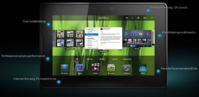 [Especial sistemas operativos para tablets] BlackBerry Tablet OS, el motor del PlayBook