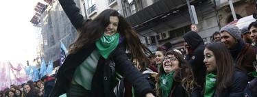 Así se ha vivido en el Congreso y en las calles de Argentina el sí a la despenalización del aborto
