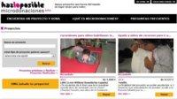 Microdonaciones, permite financiación de proyectos solidarios