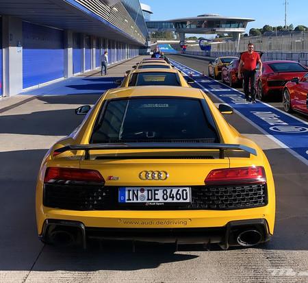 Audi R8 V10 Performance trasera