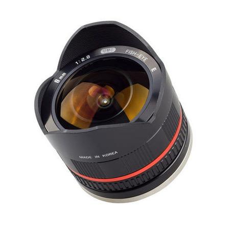 Samyang 8mm Sony NEX / samsung NX