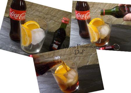 Pasos para elaborar el Chispazo de Coca-Cola
