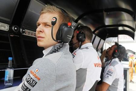 McLaren, satisfecho con Kevin Magnussen y Stoffel Vandoorne
