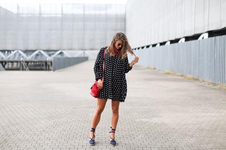 Zara Vestido Lunares Polka Dot Dress 2016 3