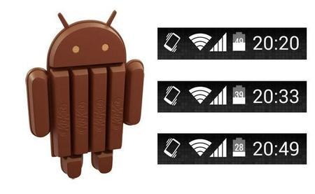 Cómo activar en Android 4.4 Kit Kat el porcentaje de batería sin ser root