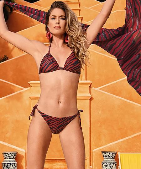 Top de bikini triangular Malibu Doutzen