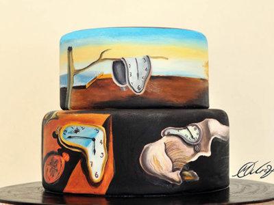 Dalí, Van Gogh o Munch reproducidos en pasteles artísticos
