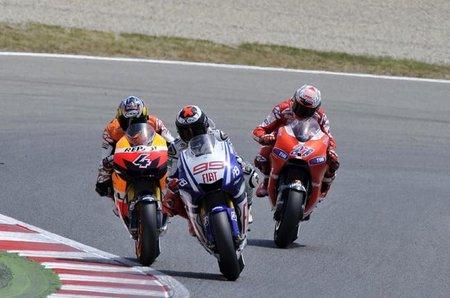MotoGP 2010, listado de motores disponibles a mitad de temporada