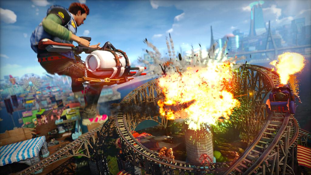 Sony registra la marca Sunset Overdrive, el título de Insomniac Games lanzado en exclusiva para Xbox One en 2014