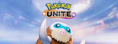 Guía de Mamoswine en Pokémon Unite: desplazando a los enemigos