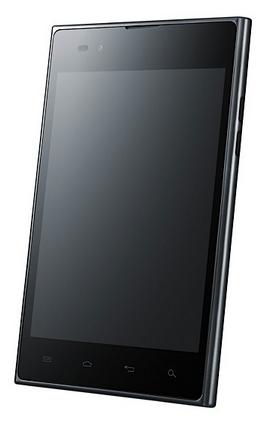 LG Optimus Vu, con puntero y unas cinco pulgadas muy cuadradas