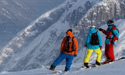 The North Face nos presenta Spineology, los equipos más especiales para la nieve