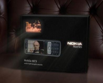 """Nokia N73 edición """"El Padrino"""""""