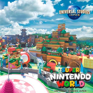 Descubre 'Super Nintendo World', el nuevo parque temático de Super Mario, Bowser y Yoshi, que abrirá sus puertas este verano