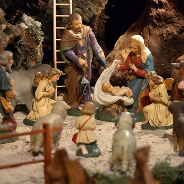 El nacimiento: Una tradición de Navidad con más de 800 años de vigencia.