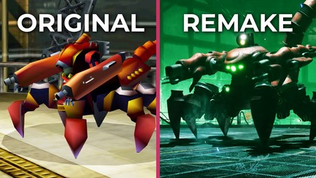 Este es el descomunal cambio visual de Final Fantasy VII Remake en comparación con el juego original