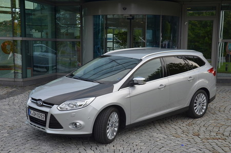 Fibra de carbono para el Ford Focus, y no es tuning