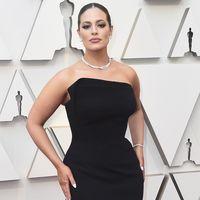 Premios Oscar 2019: Ashley Graham enamora con un sencillo vestido negro
