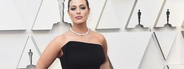 Premios Oscar 2019: Ashley Graham noquea al personal con un sencillo vestido negro