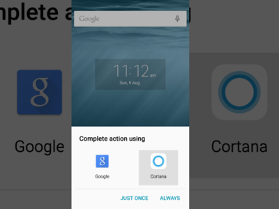 Microsoft actualiza Cortana para Android dando posibilidad de tomar el lugar de Google Now