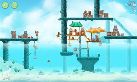 Angry Bird Rio se actualiza, ahora con nuevos niveles pasa a ser gratuito