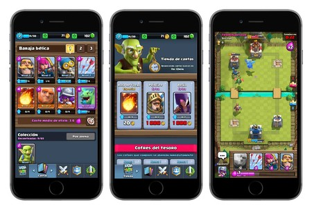 Capturas de Clash Royale para iOS
