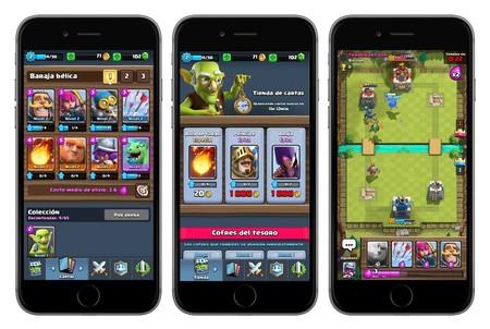 Capturas de Clash Royale para iOS