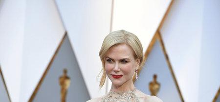 Premios Oscar 2017: alfombra llena de estatuillas doradas y brillos