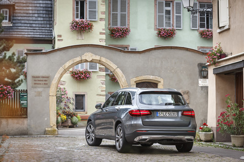 Mercedes-Benz GLC: lo hemos probado y ahora vemos que un SUV puede hacer off-road de verdad