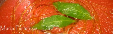 Lentejas con tomate y parmesano