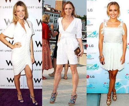 Todas las celebrities visten de blanco: apunta sus looks