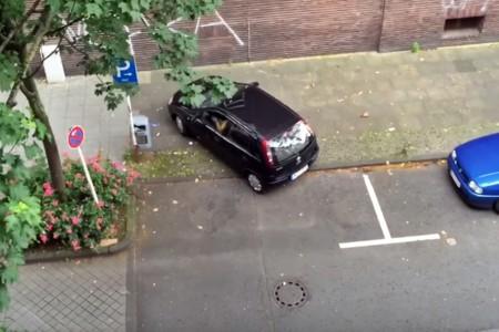 """Aquí tienes la definición gráfica de """"se me da mejor aparcar en sitios pequeños"""""""