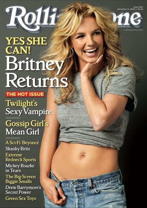 Foto de Britney Spears en RollingStone (1/3)