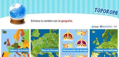 Geografía para niños en Toporopa