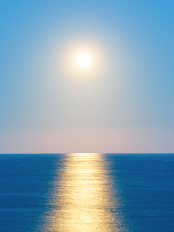 Moon Rise Reflections C Joshua Wood Mini