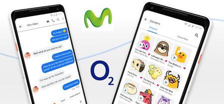 Movistar y O2 ya soportan la mensajería RCS sin coste a través de la app Mensajes de Android