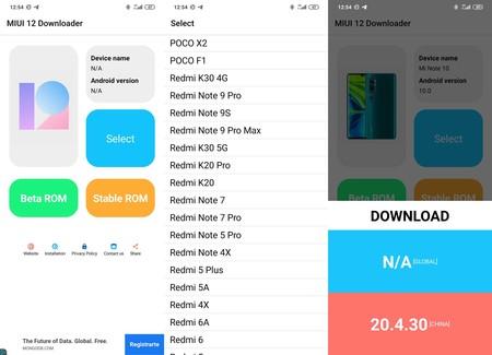 Miui 12 Downloader