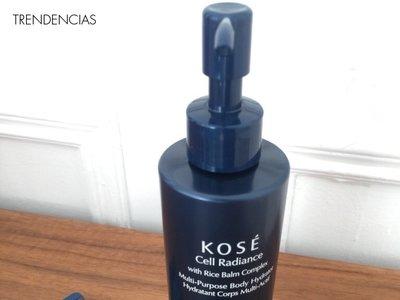 Adentrándonos en la cosmética japonesa. Probamos la hidratante corporal y el limpiador de Kosé