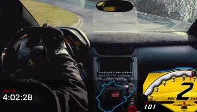 El Lamborghini Aventador SV se merienda Nürburgring en menos de siete minutos (vídeo)