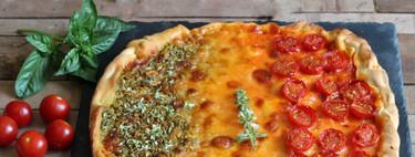 Pizza Fiesta italiana. Receta