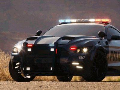 Barricade ha vuelto, y lo hace encarnado en un amenazante Ford Mustang policial