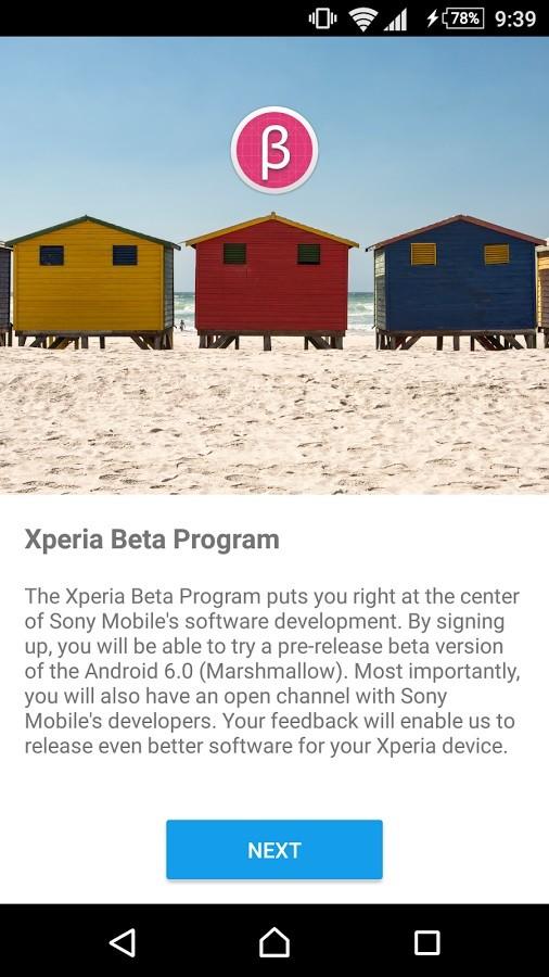 Xperia Beta