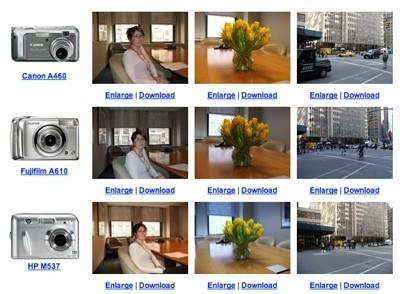 Comparativa de cámaras de menos de 150 dólares
