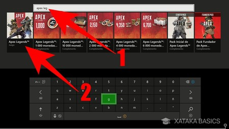 Busca Apex Xbox