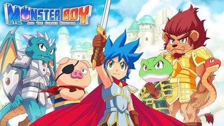 Análisis de Monster Boy and the Cursed Kingdom, el Wonder Boy con el que siempre había soñado