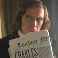 Dan Stevens es Dickens en el tráiler de una comedia sobre la creación de 'Cuento de Navidad'