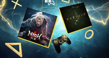 Nioh y Outlast 2 entre los juegos de PlayStation Plus de noviembre