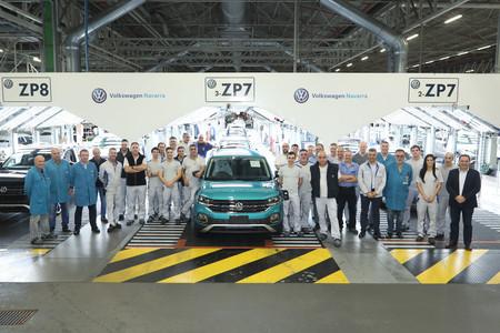 Volkswagen Navarra supera por quinto año en su historia los 300.000 coches producidos y ya empieza a notar la 'fiebre SUV'