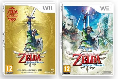 Zelda comparación