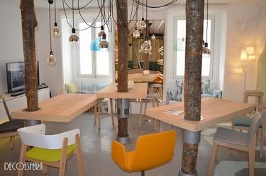 Un funcional y original espacio de trabajo creado por David Jiménez y Sergio Sánchez en Casa Decor
